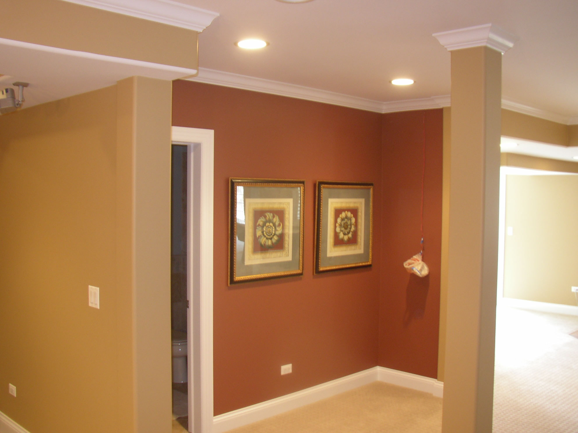 Chicago barrington algonquin interior and exterior - Interior paint ideas for small rooms ...